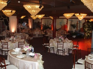 1840s Ballroom reception dining
