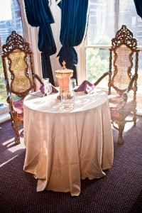 ballroom sweetheart table