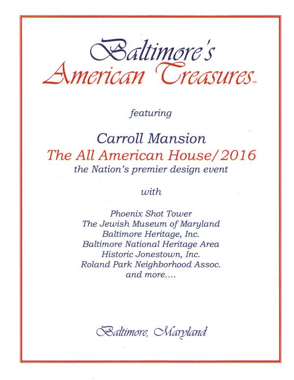 Baltimore's American Treasures