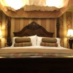 Pillows and Headboard of the bed