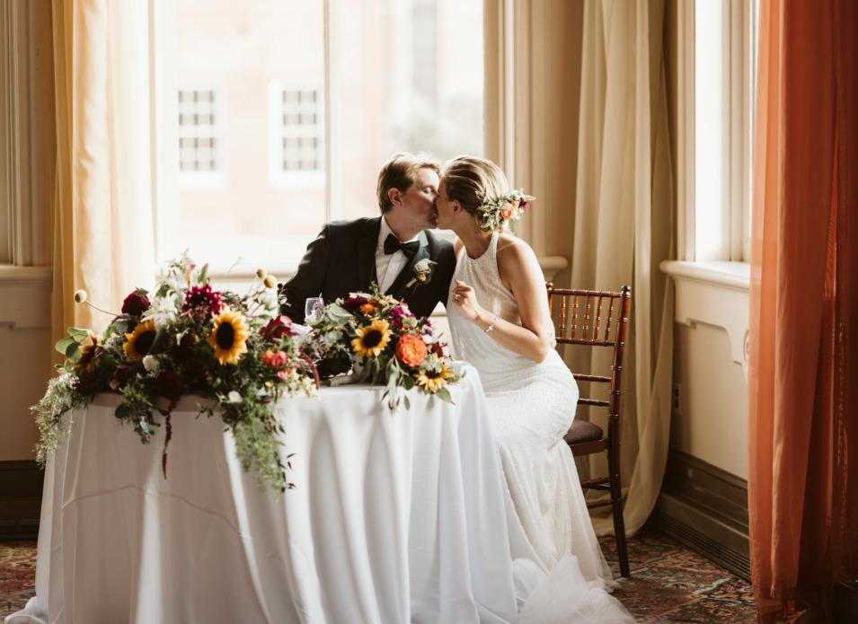 City Lites wedding