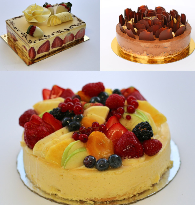 Patisserie Poupon cakes
